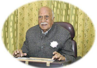 Dr. D. D. Jyoti, Founder, SJPS